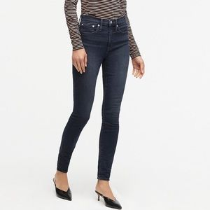 """J CREW 10"""" High-Rise Toothpick Size 29"""